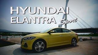 Hyundai ELANTRA Sport 動靜自如 跑格基因 試駕- 廖怡塵【全民瘋車Bar】73