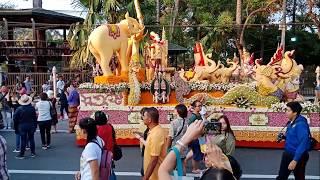 Фестиваль цветов в Таиланде. Чианг Май - улыбки, цветы, музыка