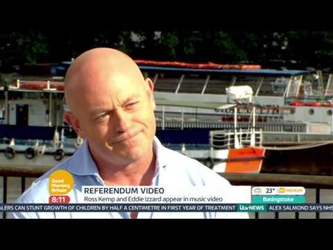 Ross Kemp & Pat Kane Talk About Scottish Independence - Good Morning Britain