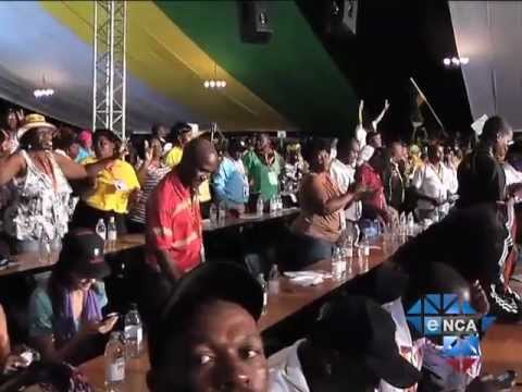 Zuma Supporters Flaunt Victory
