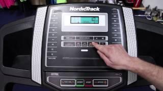 NORDIC TRACK C100 TREADMILL
