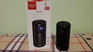 Crazy kool portable Projector  Nebula by Anker  LIVE TV!!!