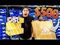 The $500 Adidas Outlet Challenge