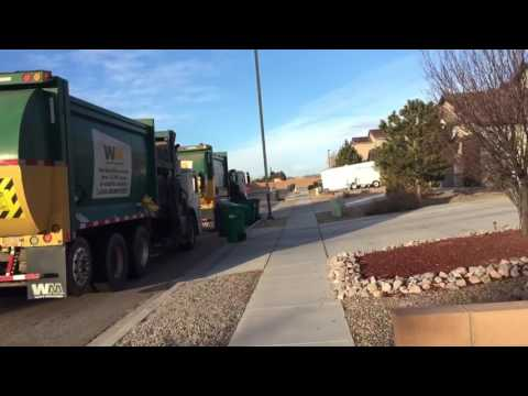 Clips of Garbage trucks 2017