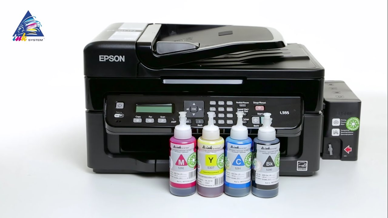 Заправка принтера apson l 355