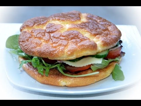 OOPSIE BURGER BACKEN - EIWEIßBURGER / LOW CARB / TUTORIAL ...