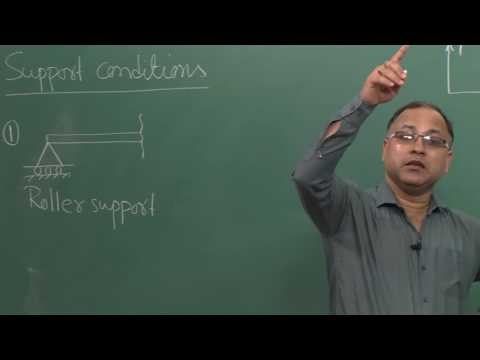 Lecture 5 - Support Conditions