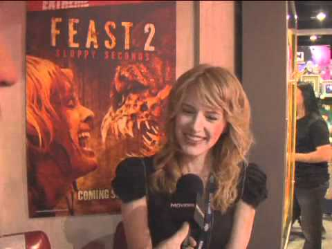 Feast 2: Sloppy Seconds  ComicCon 2008 Exclusive: Jenny Wade