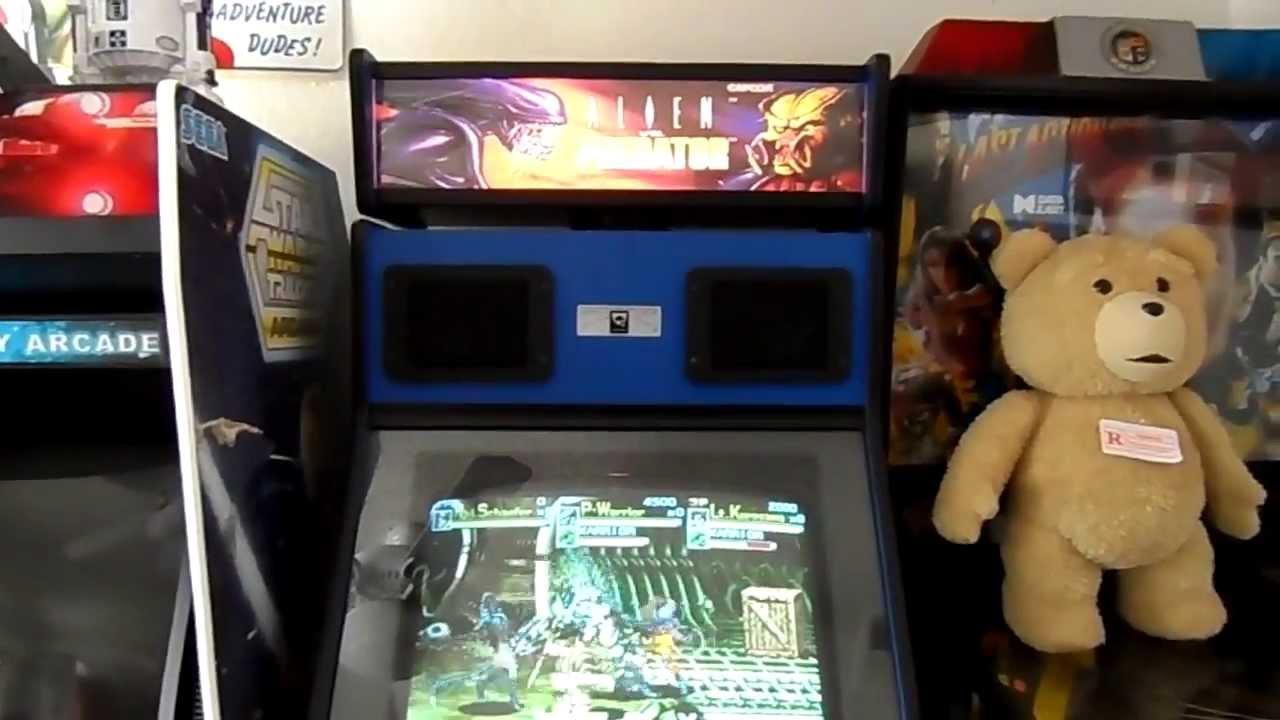 My Alien vs Predator Arcade Cabinet - YouTube