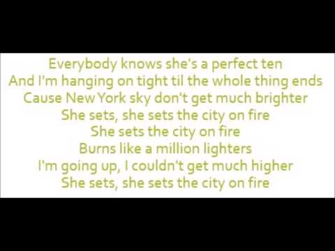 She Sets The City On Fire - Gavin DeGraw (Lyrics)