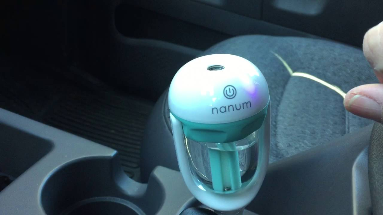 Mini Car Humidifier Youtube Nanum Ii Purifier Aromateraphy With 2 Usb Charger Port