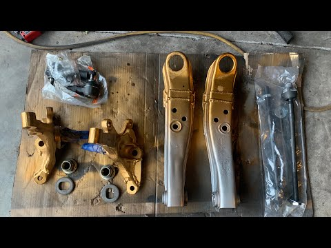 Extending s13 Lower Control Arms & Modding Knuckles
