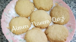 How to bake coconut cookies? By Aimen Naeem Qazi