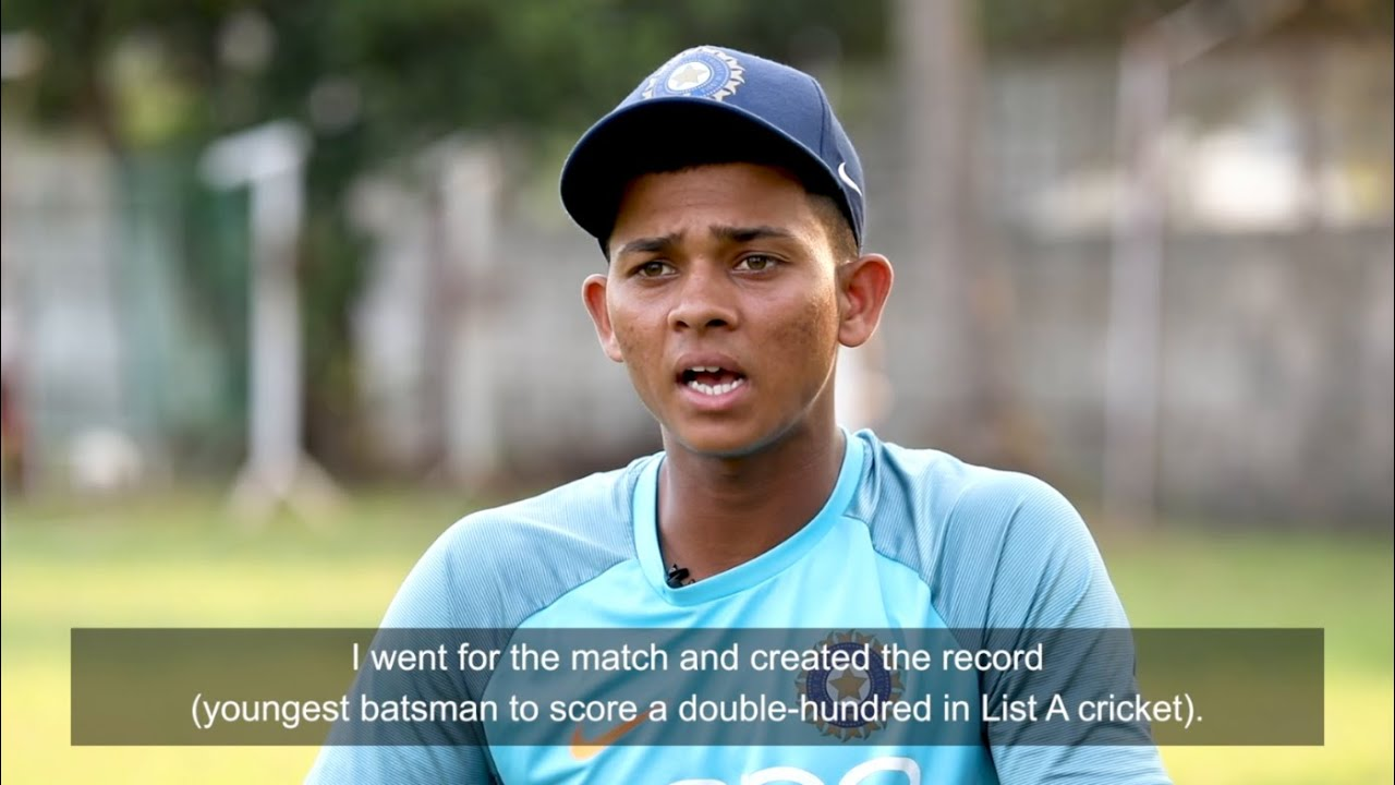 ICC 360: Meet inspirational Indian U19 cricketer Yashasvi Jaiswal