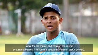 ICC 360: Meet inspirational Indian U19 cricketer Yashasvi Jaiswal