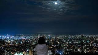 Bulan berenda biru