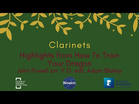 🐣 Clarinets, How To Train Your Dragon