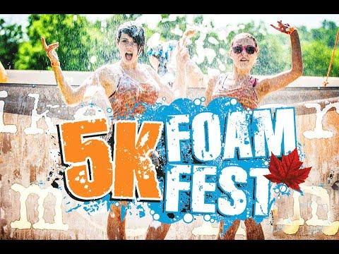 5k Foam Fest  Having A Good Time HD