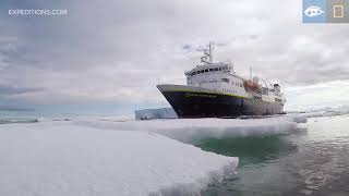 Exploring Among Icebergs | Antarctica | Lindblad Expeditions-National Geographic