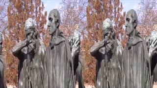 """Auguste Rodin """"Burghers of Calais"""" - Hirshhorn Sculpture Garden"""