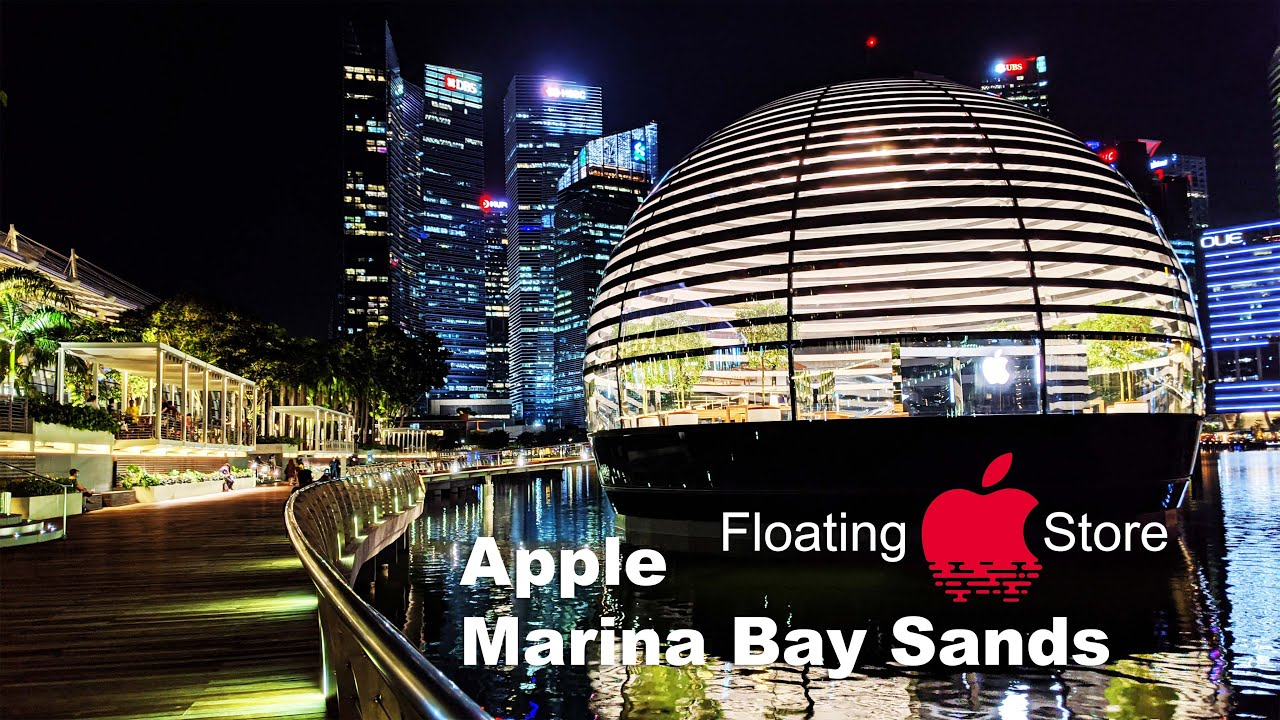 APPLE MARINA BAY SANDS SINGAPORE REVEALED (PRE-OPENING)