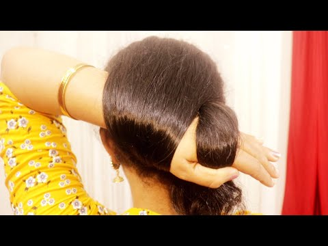 latest-juda-hairstyle-step-by-step-||-bridal-hairstyle-tutorial-||-updo-hairstyle-||-hairstyle