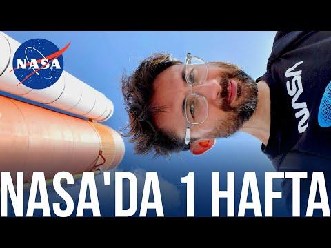 NASA'da 1 Hafta - Astronotla Tanıştım