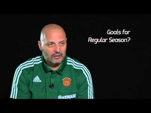 Pre-season Interview: Coach Sasha Djordjevic, Panathinaikos Athens