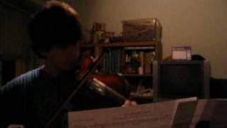 [Violin] Bach minuet 2