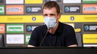 Пресс-конференция после матча «Краснодар» - «Рубин»