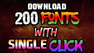 how to download fonts for photoshop cs6