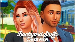 The Sims 4 Backyard Stuff - Overview