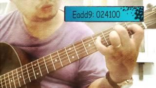 Những hợp âm màu  guitar nên biết - Color Chords
