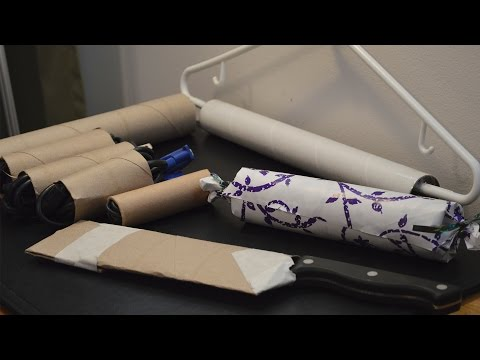 6 Uses for Paper Towel Rolls/Cardboard Tubes