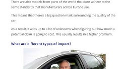 Car insurance for imported motors #Insurance Policy