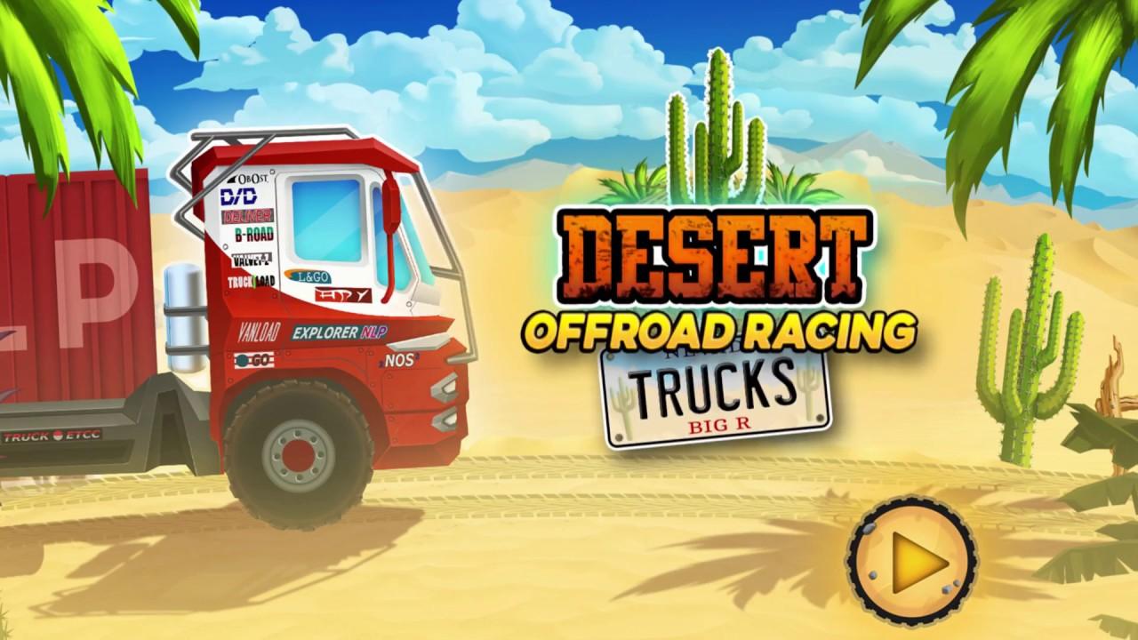 Desert Rally Trucks: Offroad Racing