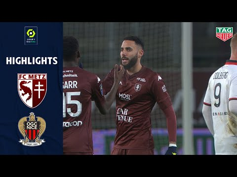 FC METZ - OGC NICE (1 - 1) - Highlights - (FCM - OGCN) / 2020-2021