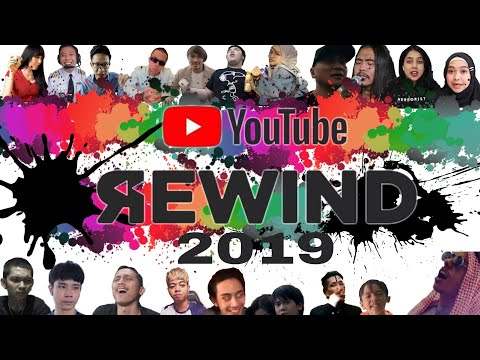 Youtube Rewind Indonesia 2019 ( All Indonesian Youtubers Join The Battle ) #YoutubeRewind