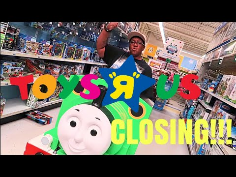 TOY'S R US IS CLOSING!!!!😢