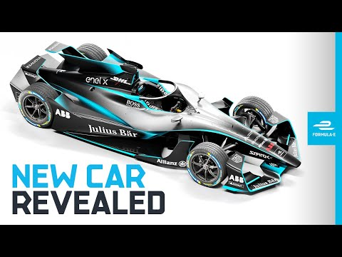 GEN2 EVO REVEALED! First Look At Formula E's New Electric Race Car! | ABB FIA Formula E Championship