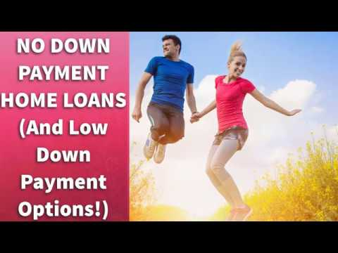 No Down Payment Home Loans (And Low Down Payment Options!)