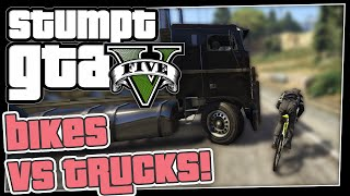 GTA 5 Online - #8 - Bicycles vs Trucks (GTA V Hasta La Vista)