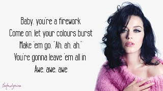 Gambar cover Firework - Katy Perry (Lyrics)