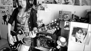 Joan Jett and the Blackhearts - I Hate Myself for Loving You -  Guitar Cover