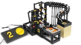 ギアとアームの動きが絶妙!レゴ カップ工場