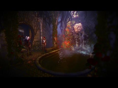 The Witcher 2 | Geralt And Triss | Elven Ruin / Garden | Elven Bath Scene