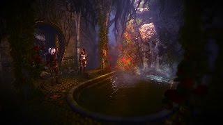 The Witcher 2 | Geralt and Triss | Elven Ruin / Garden | Elven…