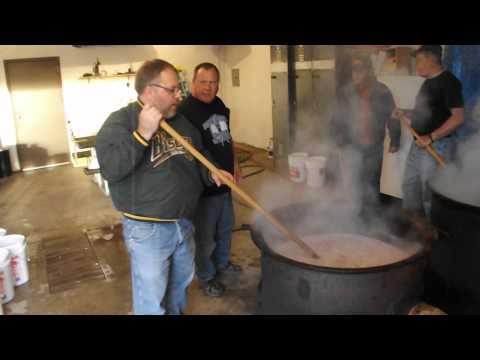 Wishek Sauerkraut Day Prep
