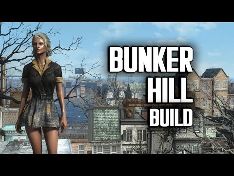 Bunker Hill Efficiency Build - Fallout 4 Settlements