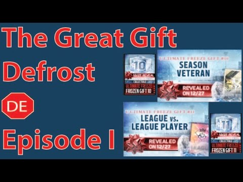 Madden Mobile 16 The Great Gift Defrost Gift 10 and Gift 11 ...